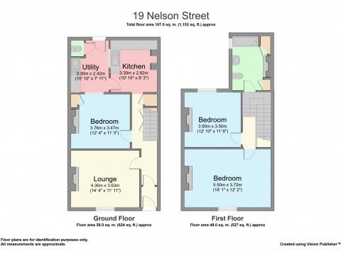 Nelson Street, Plymouth : Floorplan 1