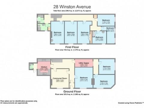 Winston Avenue, Near Babbage, Plymouth : Floorplan 1