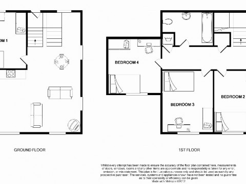 College Lane, Mutley, Plymouth : Floorplan 1