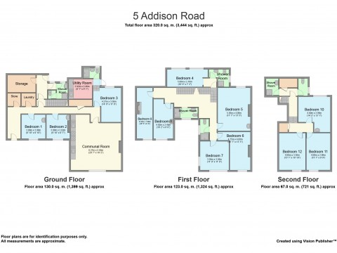 Addison road, Plymouth, North Hill, Plymouth : Floorplan 1