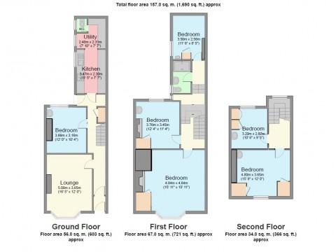 Headland Park, Plymouth : Floorplan 1