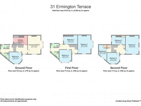 Ermington Terrace, Mutley, Plymouth : Floorplan 1