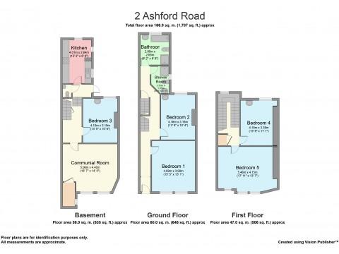 Ashford Road, Mutley, Plymouth : Floorplan 1