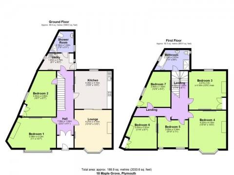 Maple Grove, Plymouth : Floorplan 1