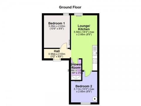Mutley Plain, Plymouth : Floorplan 1