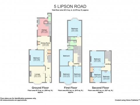 Lipson Road, Greenbank, Plymouth : Floorplan 1