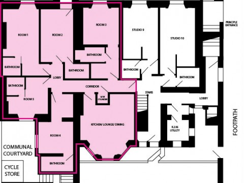 North Road East, Plymout : Floorplan 1