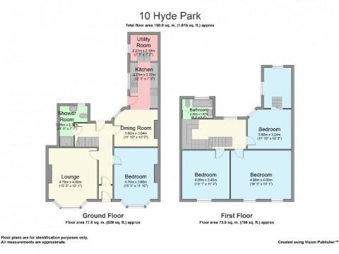Hyde Park Road, Mutley, Plymouth : Floorplan 1