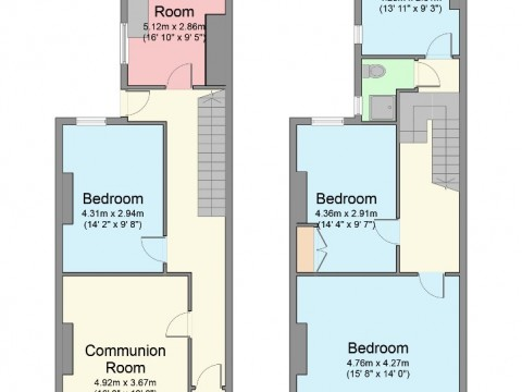 Holdsworth Street, Penny Come Quick, Plymouth : Floorplan 1