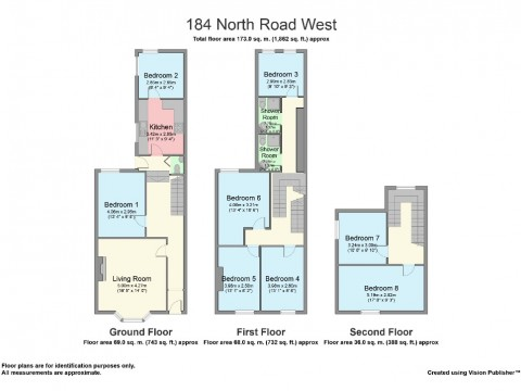 North Road West, City Centre, Plymouth : Floorplan 1