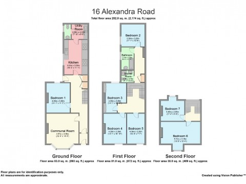Alexandra Road, Mutley, Plymouth : Floorplan 1