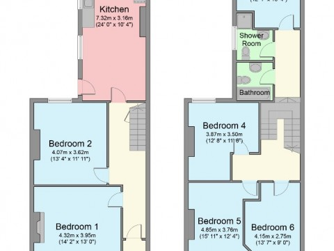 Mildmay Street, Mutley, Plymouth : Floorplan 1
