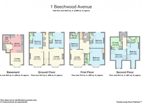 Beechwood Avenue, Plymouth : Floorplan 1