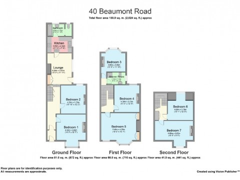 Beaumont Road, Greenbank, Plymouth : Floorplan 1