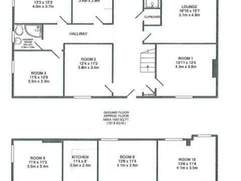 Cecil Street, Plymouth : Floorplan 1