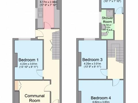 Plym Street, North Hill, Plymouth : Floorplan 1