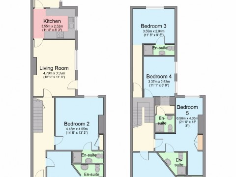 Mildmay Street, Greenbank, Plymouth : Floorplan 1