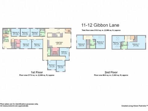 Gibbon Lane, North, Plymouth : Floorplan 1