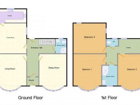 Knighton Road, Plymouth : Floorplan 1