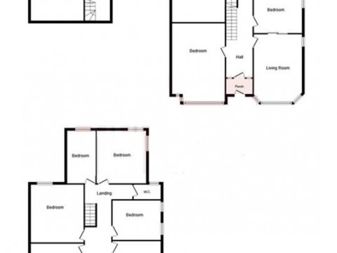 Queens Road, Plymouth : Floorplan 1
