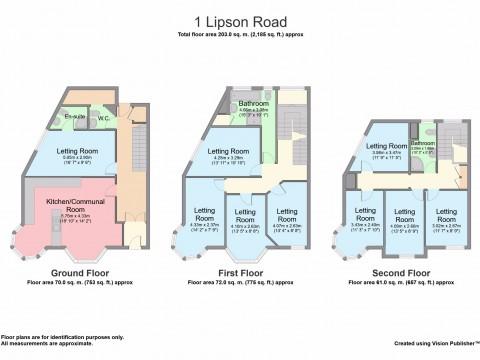 Lipson Road, Plymouth : Floorplan 1
