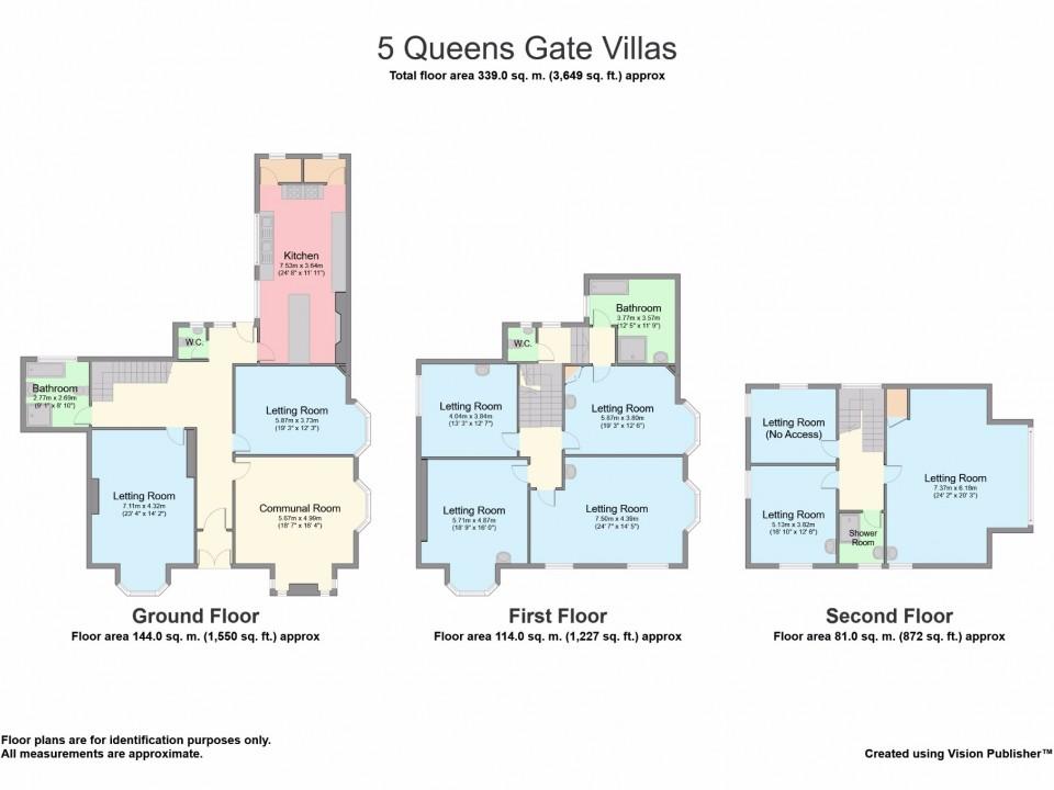 Queens Gate Villas, Greenbank, Plymouth : Image 2